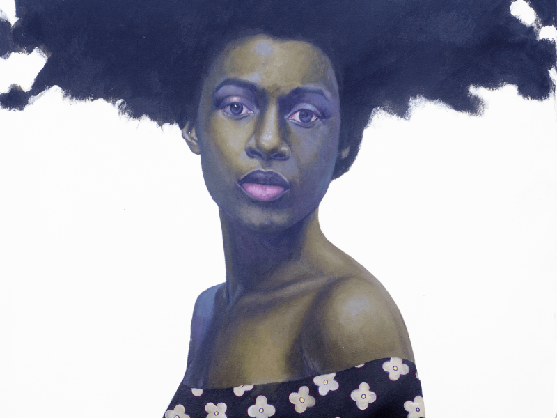 Beautiful solo exhibition by Omofemi to celebrate Afrocentric pride