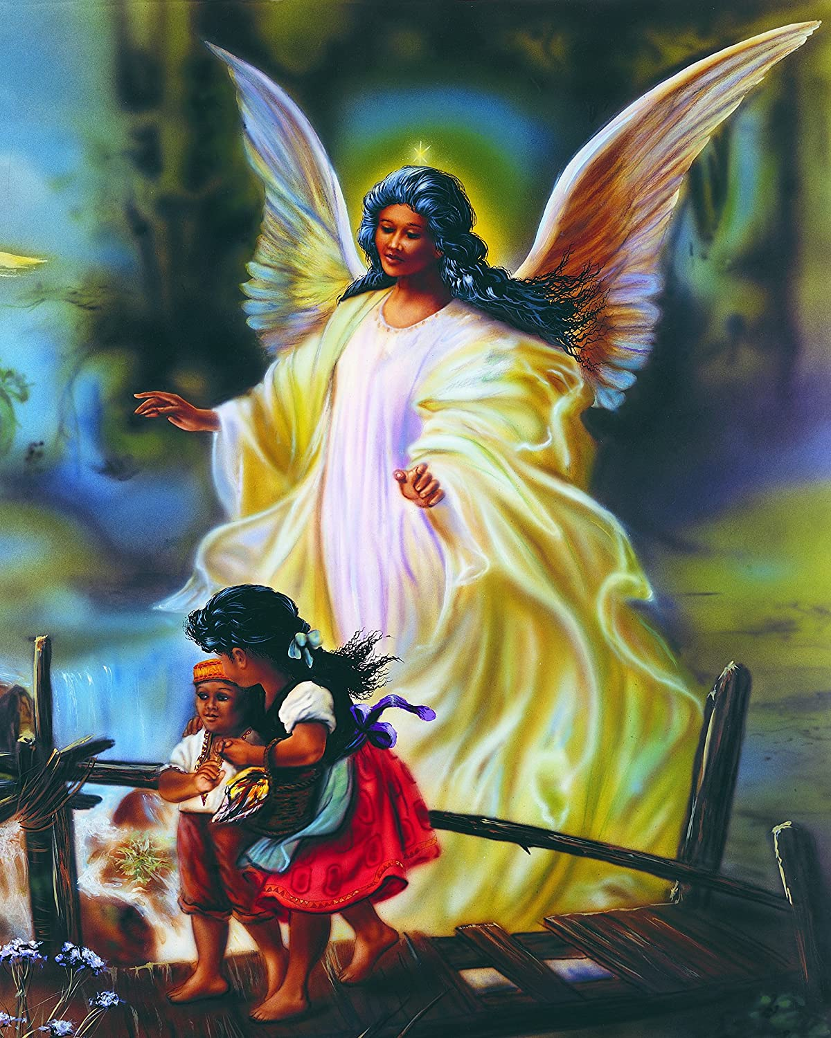 Mother are Angels to their children