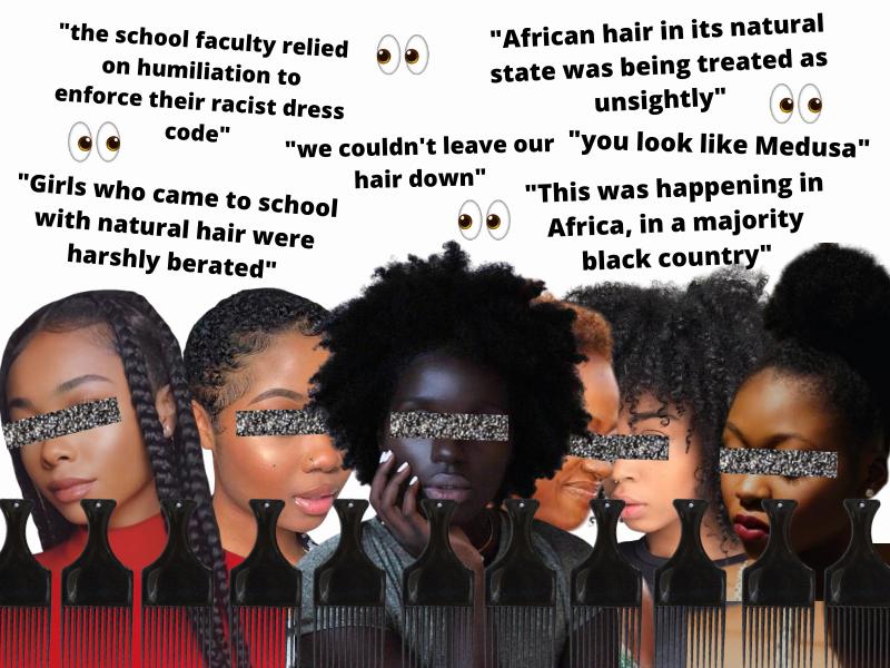 Black Hair discrimination in 2021