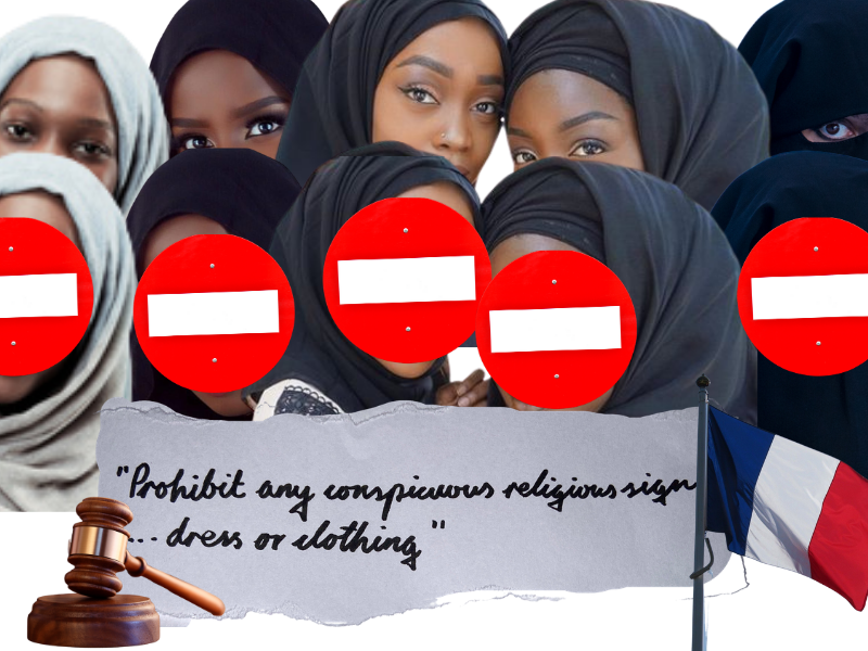 #PasToucheAMonHijab: How France is erasing Muslim women and girls from society