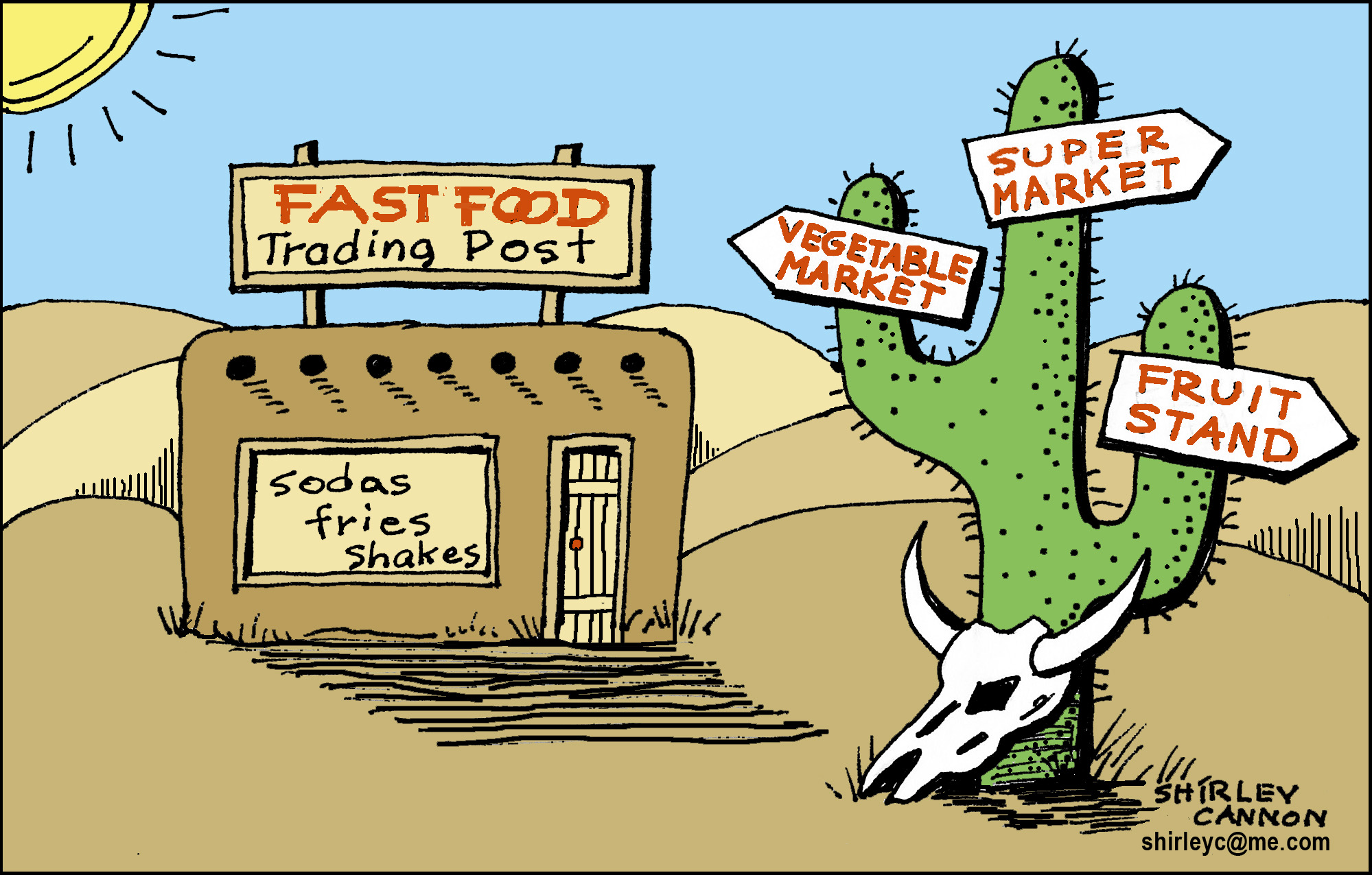 """""""That's still a thing?!"""": Food Deserts and Black America"""