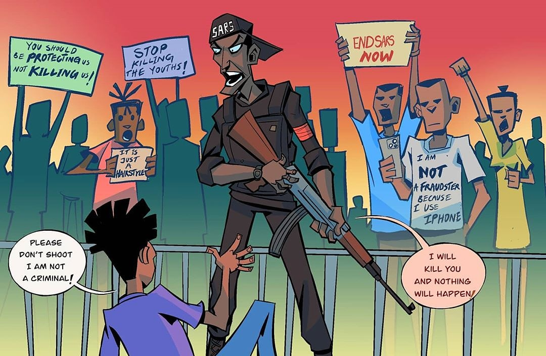 Human Rights Abuses Still Persist Six Months on from Nigeria's #EndSARS Movement