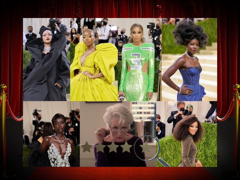 2021 Met Gala. Black is Fashion, but not on the Red Carpet