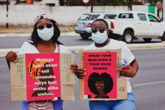 The March to End Sexual Violence in Zambia Continues